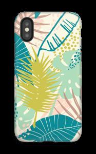 Jungle pastelle Coque  IPhone X tough