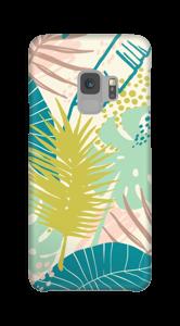 Jungle pastelle Coque  Galaxy S9