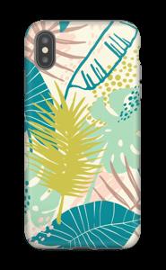 Jungle pastelle Coque  IPhone XS Max tough