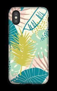 Jungle pastelle Coque  IPhone XS tough