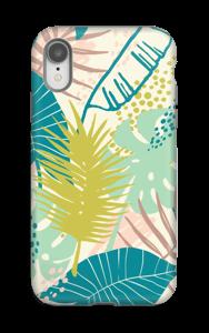 Jungle pastelle Coque  IPhone XR tough