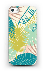 Jungle pastelle Coque  IPhone 5/5S