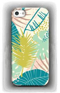 Jungle pastelle Coque  IPhone SE