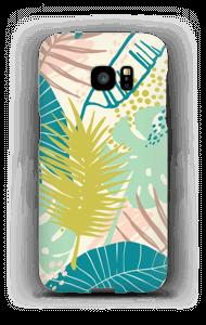 Jungle pastelle Coque  Galaxy S7 Edge