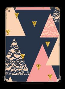 Triangles de nuit Skin IPad Pro 12.9