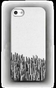 Sort/hvid cactus cover IPhone SE