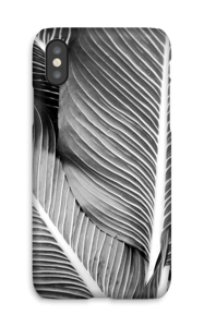 Black & White Leaves case IPhone X