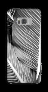 Black & White Leaves kuoret Galaxy S8 Plus
