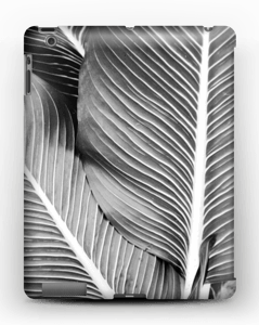 Black & White Leaves kuoret IPad 4/3/2