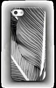 Black & White Leaves case IPhone SE