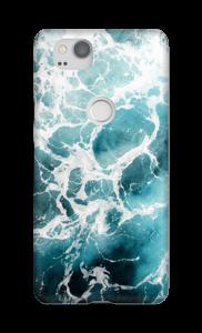 Weißer Schaum Handyhülle Pixel 2