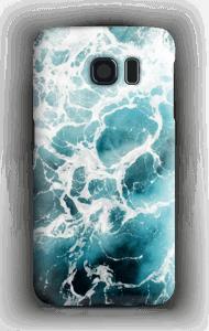 Weißer Schaum Handyhülle Galaxy S6