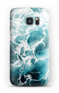 Weißer Schaum Handyhülle Galaxy S7