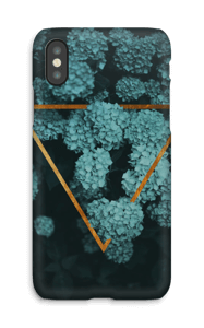 Magic Hydrangea case IPhone X