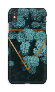 Magische Hortensien Handyhülle IPhone XS Max