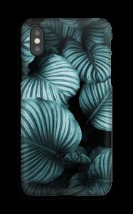 Calathea leaves case IPhone X