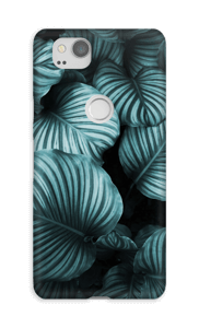 Calathea leaves case Pixel 2