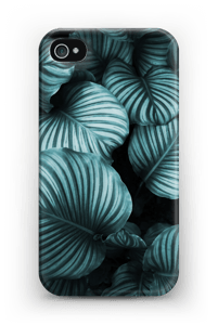 Calathea leaves case IPhone 4/4s