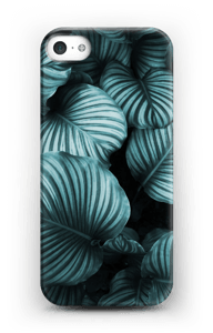 Calathea leaves case IPhone 5/5S