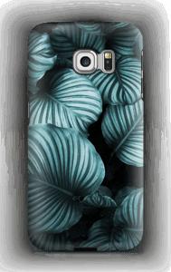 Calathea leaves case Galaxy S6 Edge