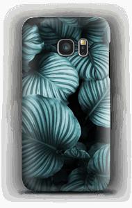 Calathea leaves case Galaxy S7