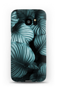 Calathea leaves case Galaxy S7 Edge