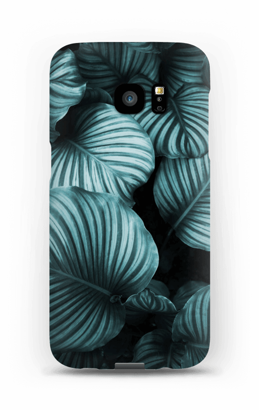 Calathea leaves case Galaxy S7 Edge