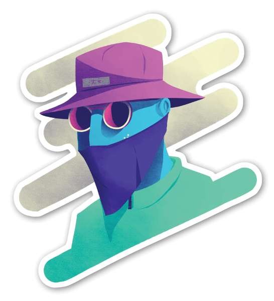 Mercenary sticker