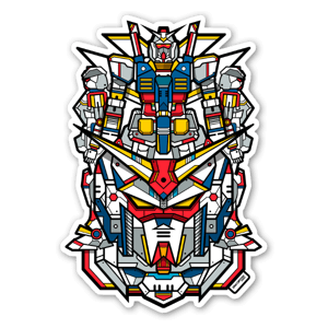 Gundam sticker