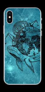 Flygande Jord  Skin IPhone X