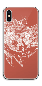 Flygande Jord & Hav Skin IPhone X
