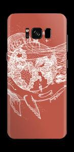 Flygande Jord & Hav Skin Galaxy S8