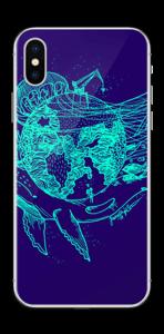 Jorden flyger Skin IPhone X