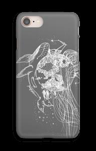 Meri ja Maa, harmaa kuoret IPhone 8