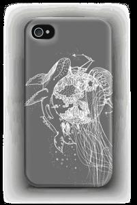 Meri ja Maa, harmaa kuoret IPhone 4/4s