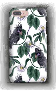 Kakadua på vitt skal IPhone 7 Plus