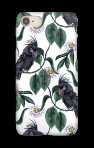 Kakadua på vitt skal IPhone 8
