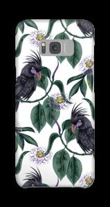 Kakadua på vitt skal Galaxy S8 Plus