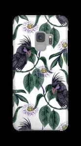 Kakadua på vitt skal Galaxy S9