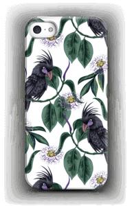 Kakatoes sur blanc Coque  IPhone 5/5S