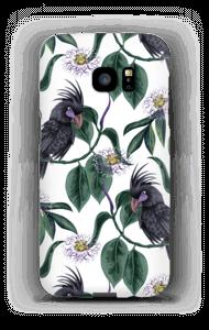 Cockatoo white case Galaxy S7 Edge
