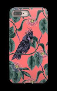 Kakadua på rosa skal IPhone 8 Plus tough