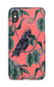 Floral Cockatoo case IPhone X