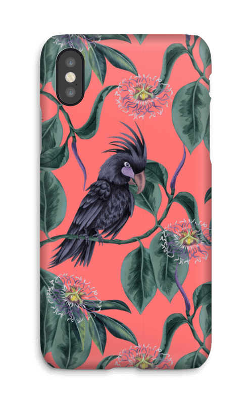 Cockatoo pink case IPhone X