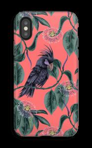 Cockatoo pink case IPhone X tough