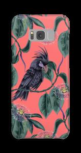 Kakadua på rosa skal Galaxy S8 Plus
