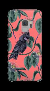 Kakadua på rosa skal Galaxy S9