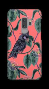 Kakadua på rosa skal Galaxy S9 Plus