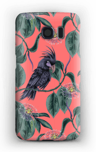 Cockatoo pink case Galaxy S6