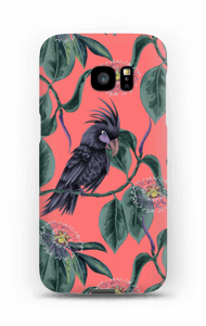 Kakadue på pink cover Galaxy S7 Edge